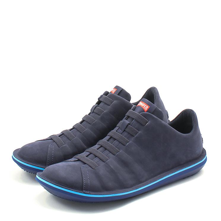 Camper, 18751 Beetle Men's Slip-on Shoes, dark blue Größe 40