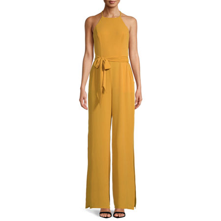 Premier Amour Sleeveless Jumpsuit, 8 , Yellow