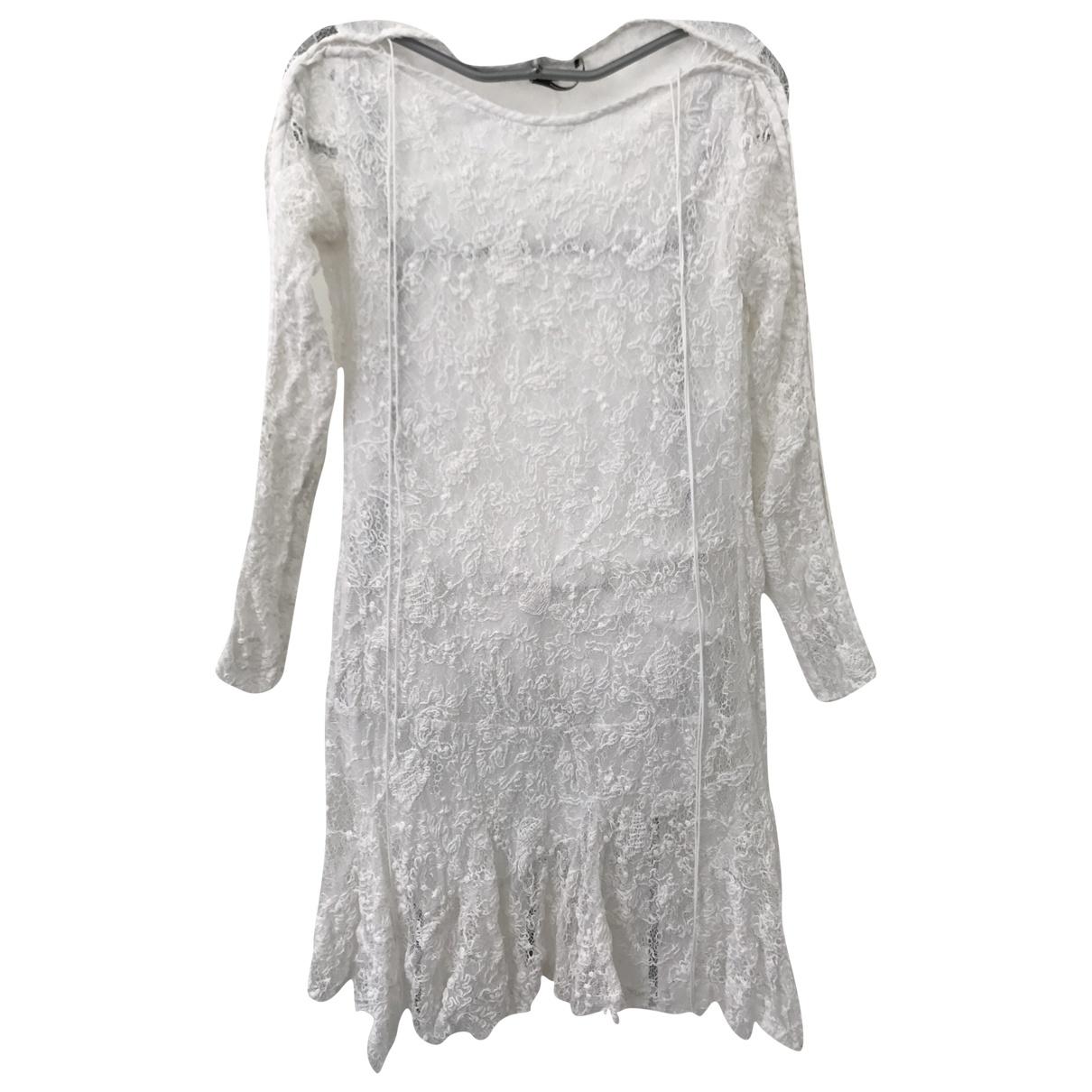 Isabel Marant \N White Lace dress for Women 42 FR
