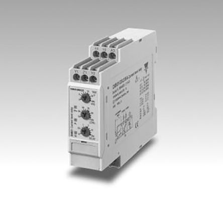 Carlo Gavazzi Current Monitoring Relay With SPDT Contacts, 24 → 48 V ac/dc Supply Voltage, 1 Phase