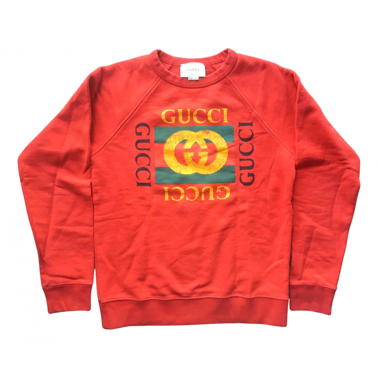 Gucci N Red Cotton Knitwear for Kids 12 years - XS FR