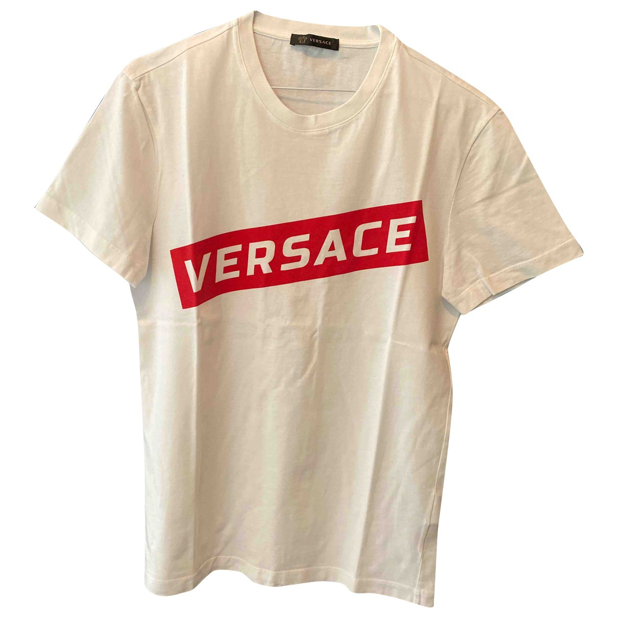 Versace \N White Cotton T-shirts for Men XS International