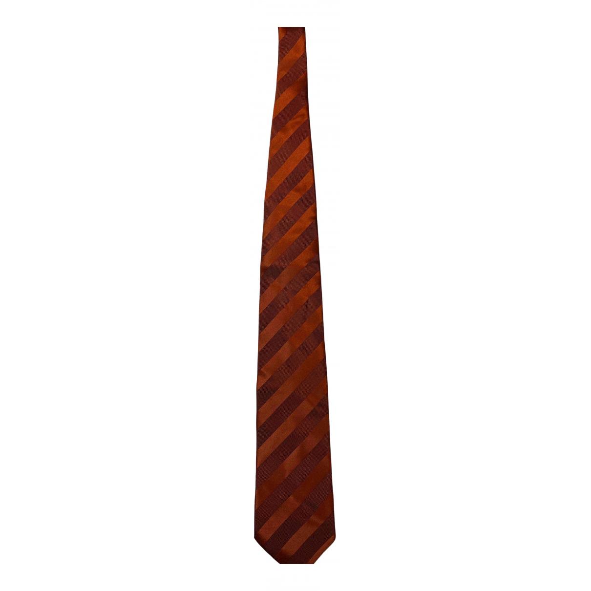 Nina Ricci \N Krawatten in  Orange Seide