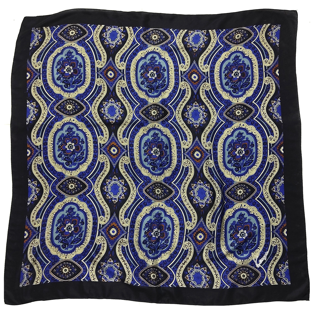 Kenzo \N Blue Silk scarf for Women \N