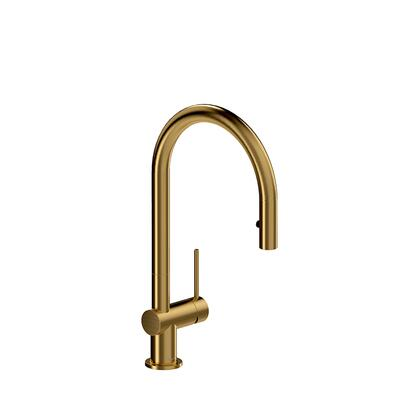 Azure AZ101BG Kitchen Faucet with Spray 1.8 GPM  in Brushed