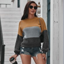 Pullover mit Cut And Sew