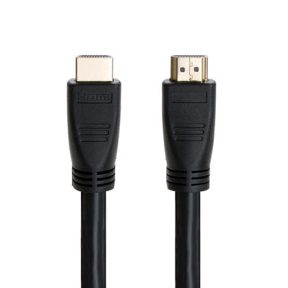 100ft 24AWG CL2 High Speed HDMI® Cable With Ethernet with Amplifier-Black-PrimeCables®