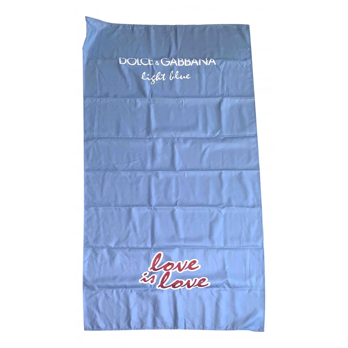 Dolce & Gabbana - Linge de maison   pour lifestyle en eponge - bleu
