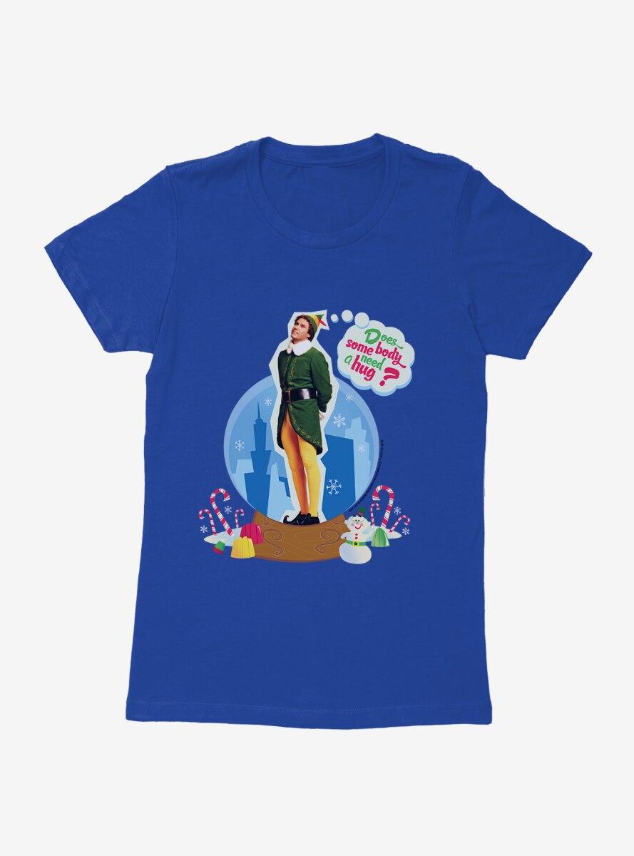 Elf Buddy Need A Hug Womens T-Shirt