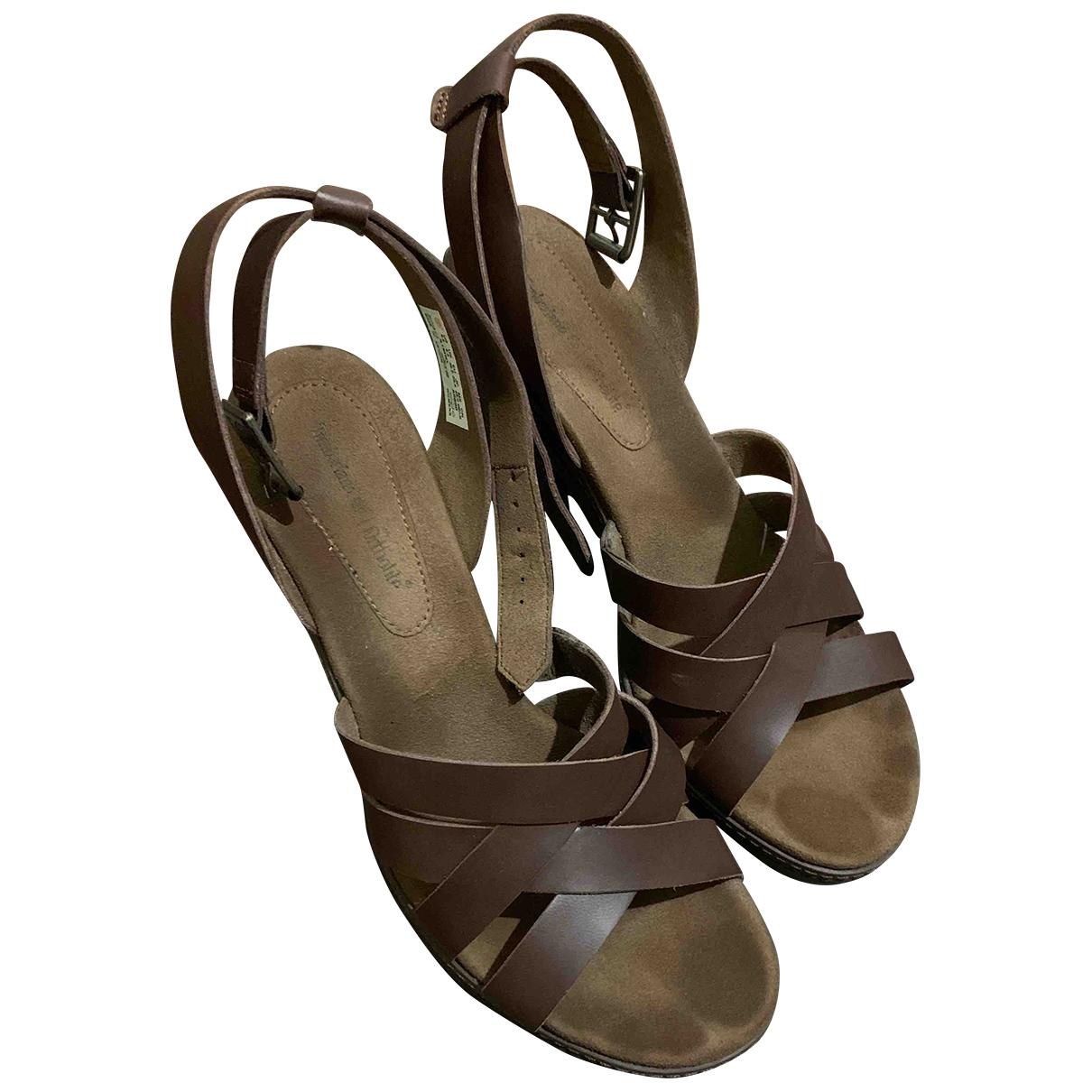 Sandalias romanas de Cuero Timberland