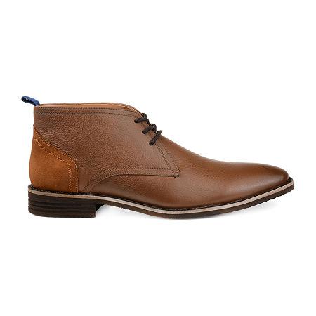 Vance Co Mens Twain Chukka Boots Block Heel, 9 Medium, Brown