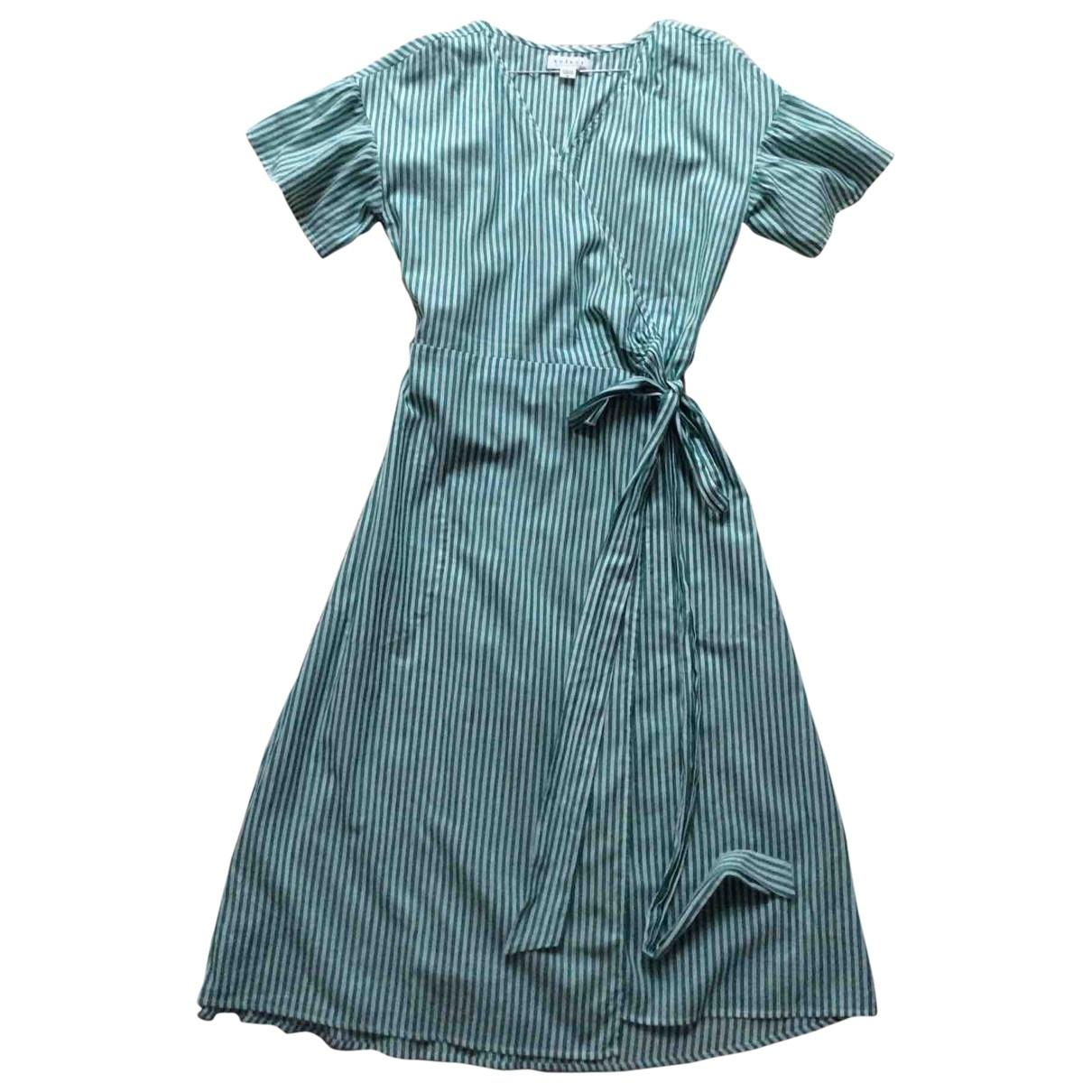 Velvet \N Green Cotton dress for Women M International