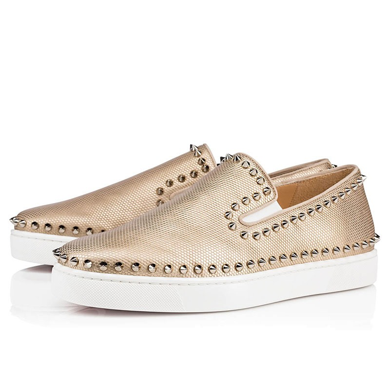 Ericdress Rivets Slip-On Round Toe Men's Dress Shoes