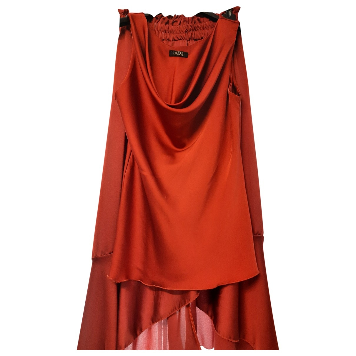 Non Signé / Unsigned \N Red dress for Women 44 IT