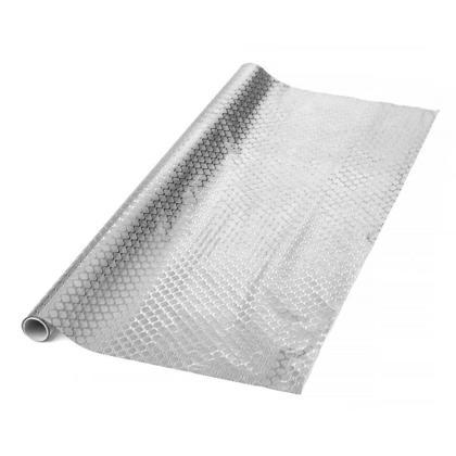 Rouleau papier cadeau feuille sirène 27.5 12 Sq.ft 1Pc, Argent - LivingBasics ™