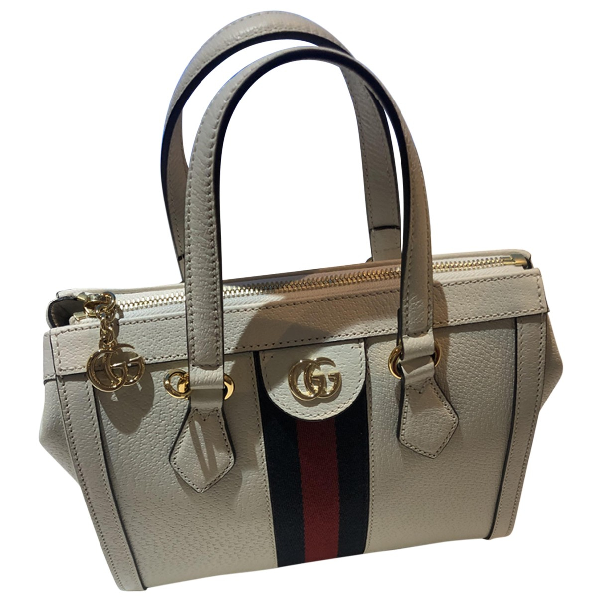 Gucci Ophidia White Leather handbag for Women N
