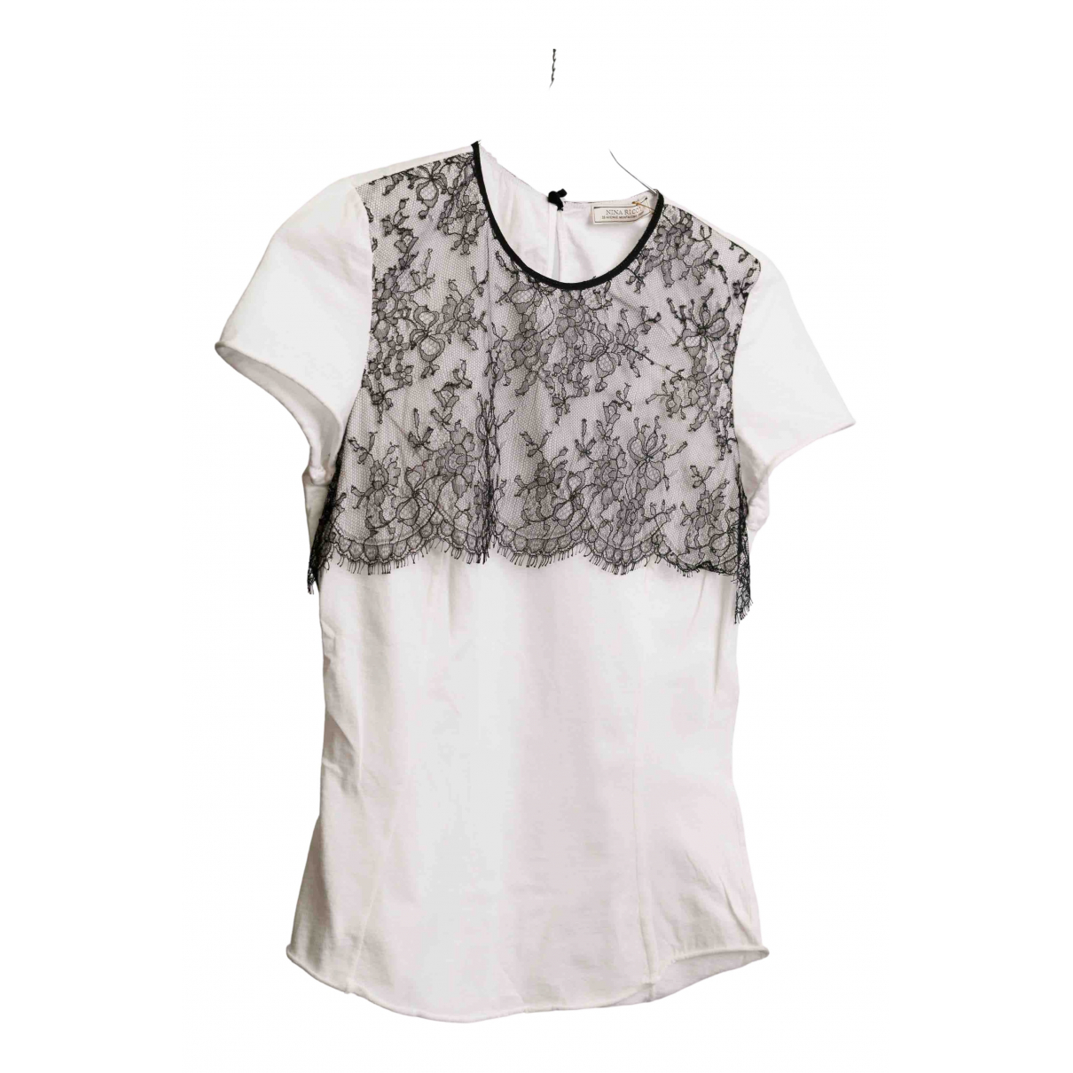 Nina Ricci - Top   pour femme en dentelle - blanc