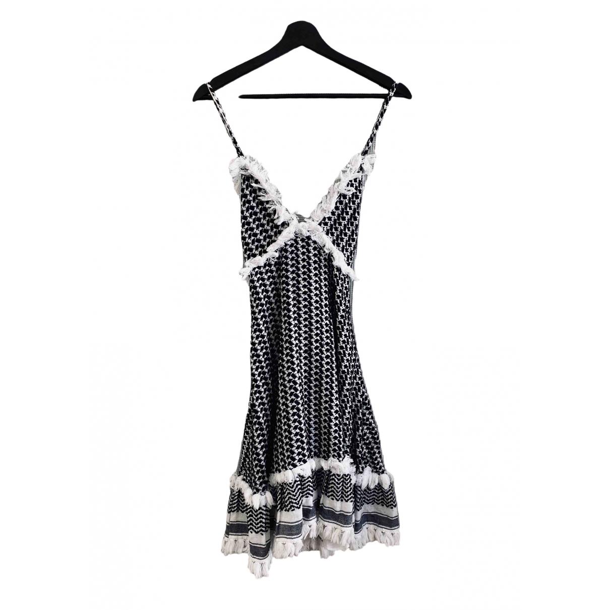Dodo Bar Or \N White Cotton dress for Women M International