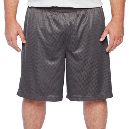 The Foundry Big & Tall Supply Co. Mens Mid Rise Basketball Short Big and Tall, 2x-large Tall , Gray