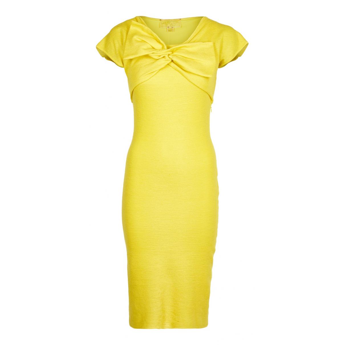 Giambattista Valli - Robe   pour femme en laine - jaune