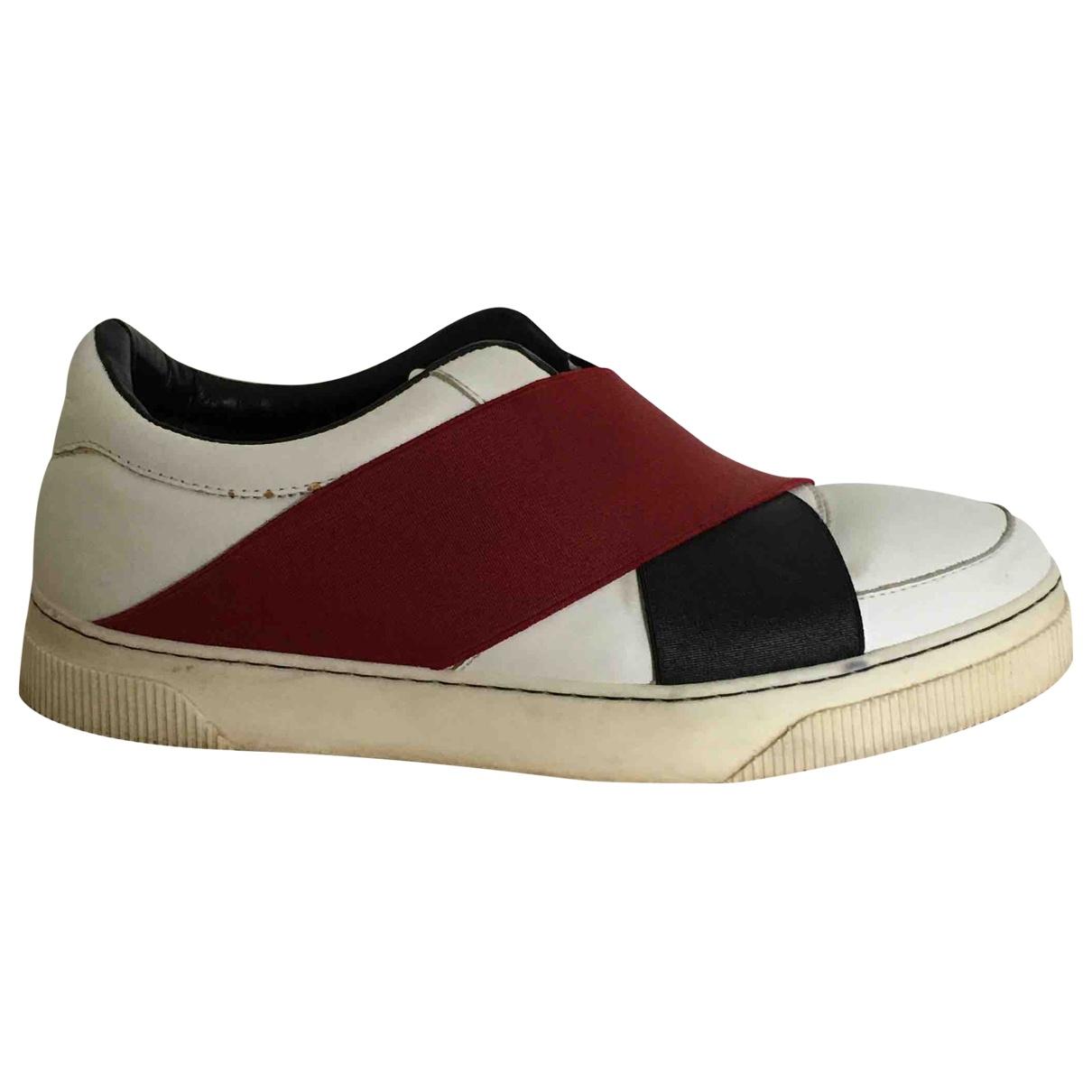 Proenza Schouler \N Sneakers in  Weiss Leder