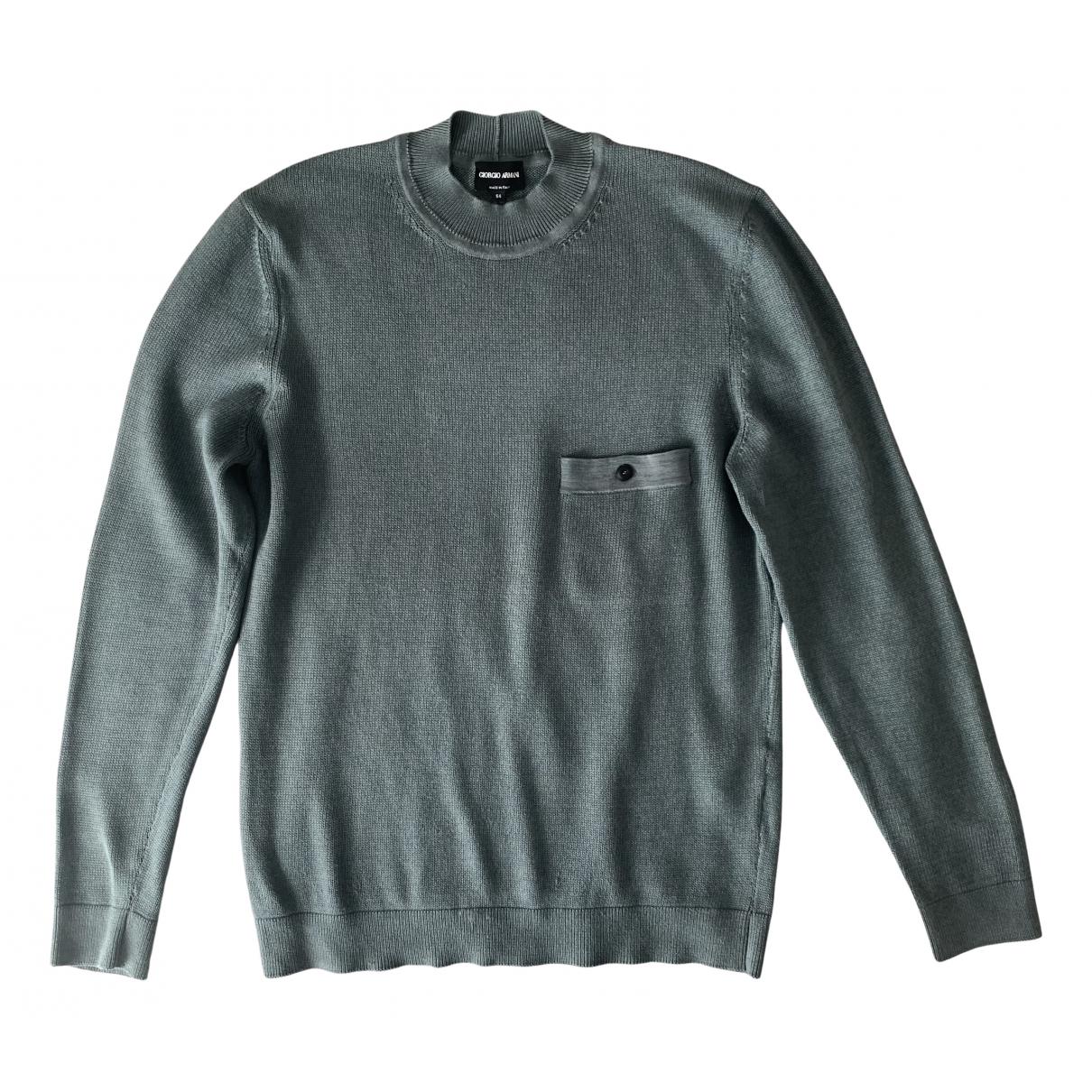 Giorgio Armani \N Pullover.Westen.Sweatshirts  in Baumwolle