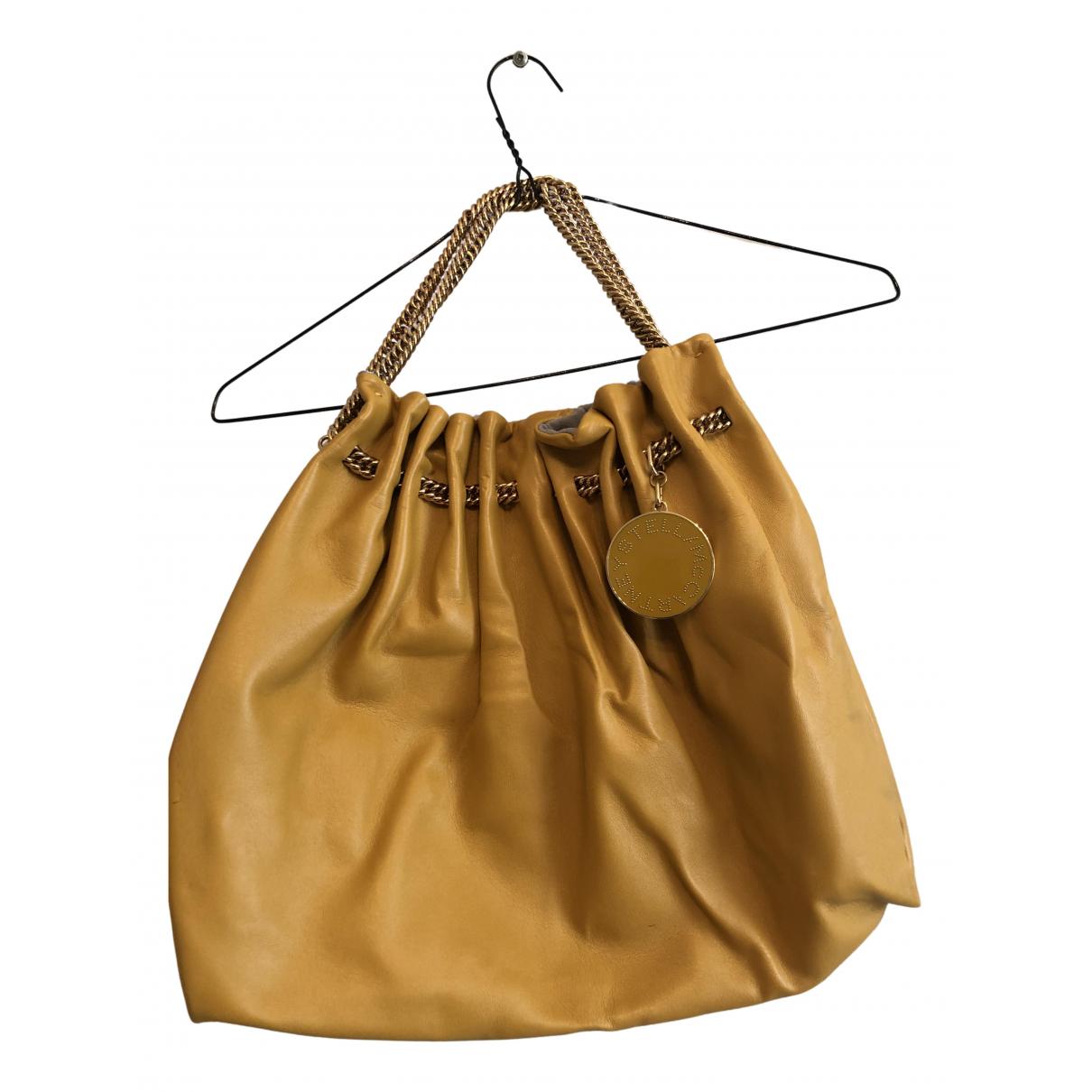 Stella Mccartney Falabella Yellow Cloth handbag for Women N