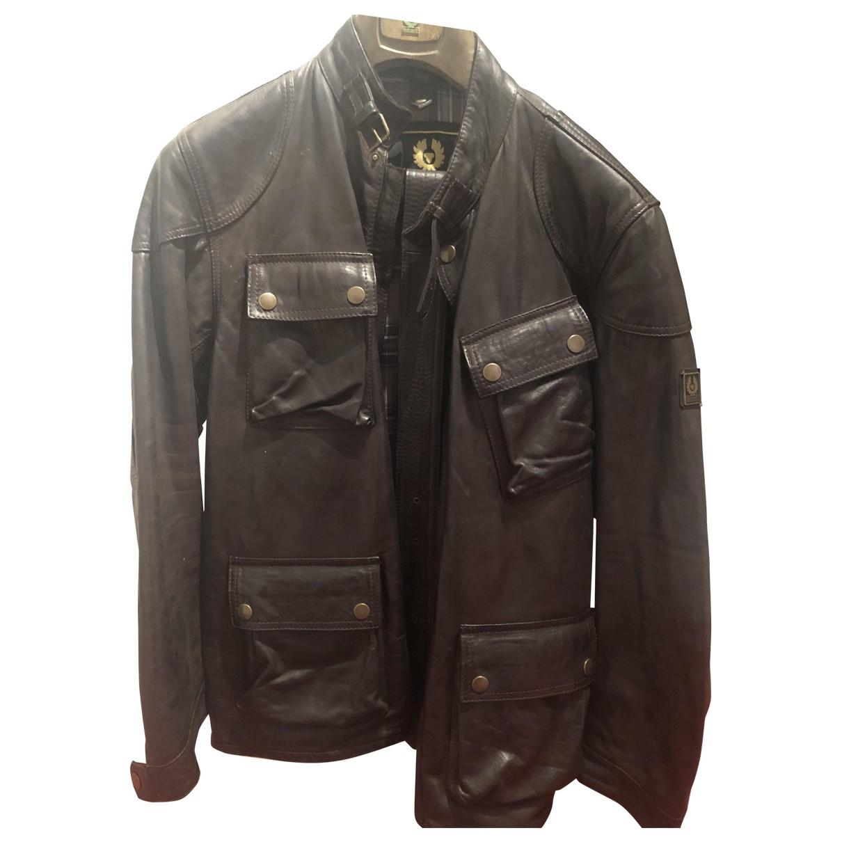 Belstaff \N Brown Leather jacket  for Men L International