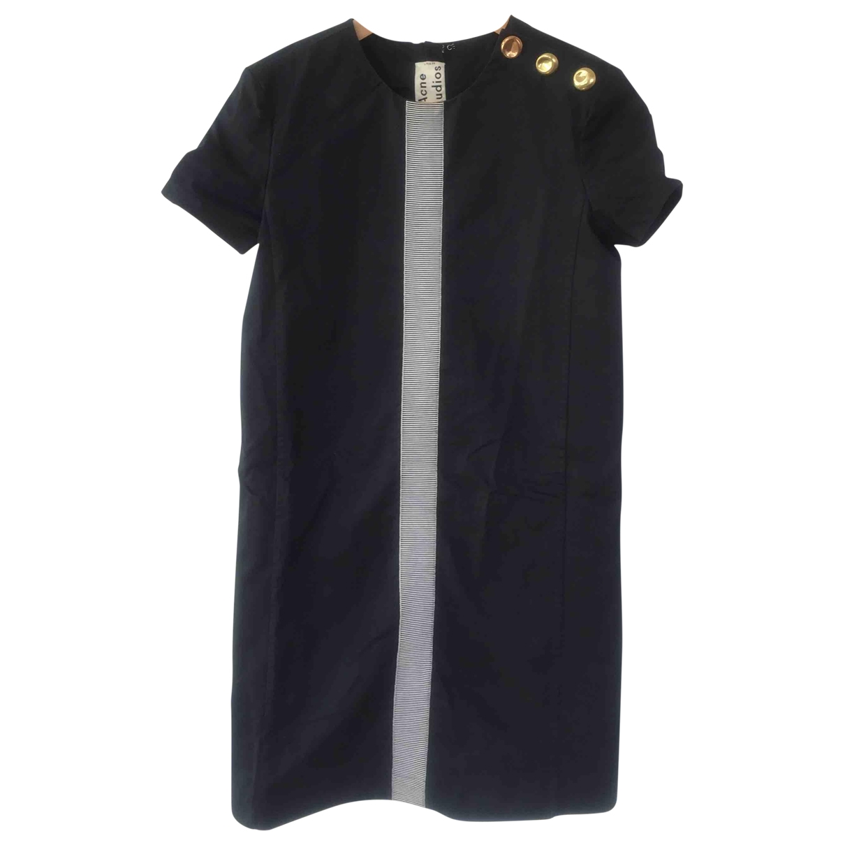 Acne Studios \N Blue Cotton dress for Women 36 FR