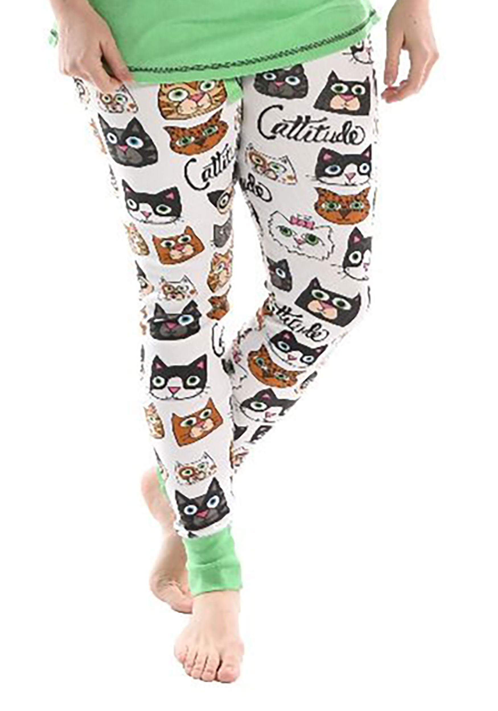Catitude Women's Pajama Leggings