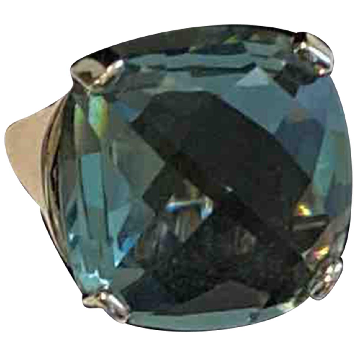 Swarovski - Bague   pour femme en cristal - bleu