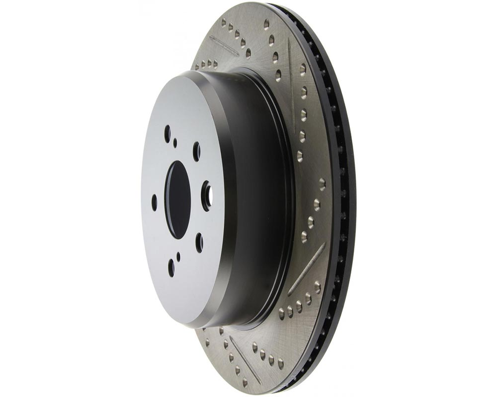 StopTech 127.44189L Sport Drilled/Slotted Rotor Left Lexus Rear Left