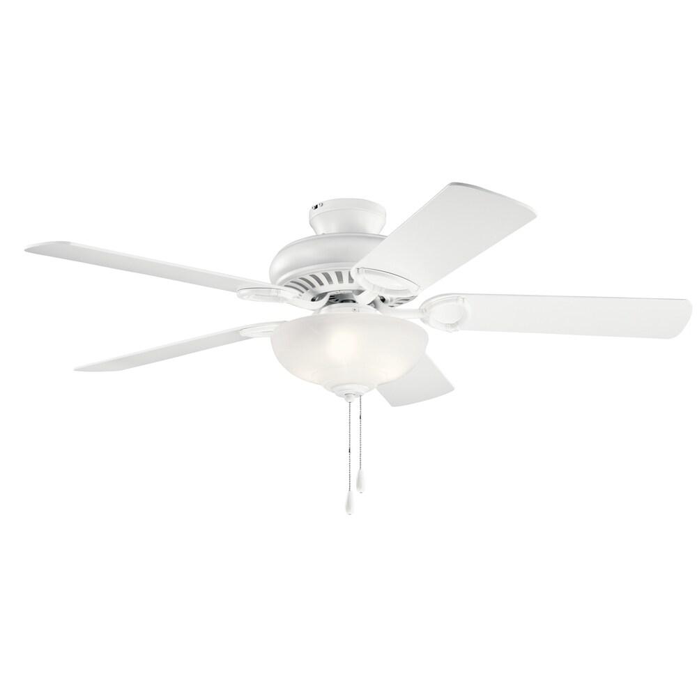 Kichler Lighting Sutter Place Select 52-inch Ceiling Fan Matte White