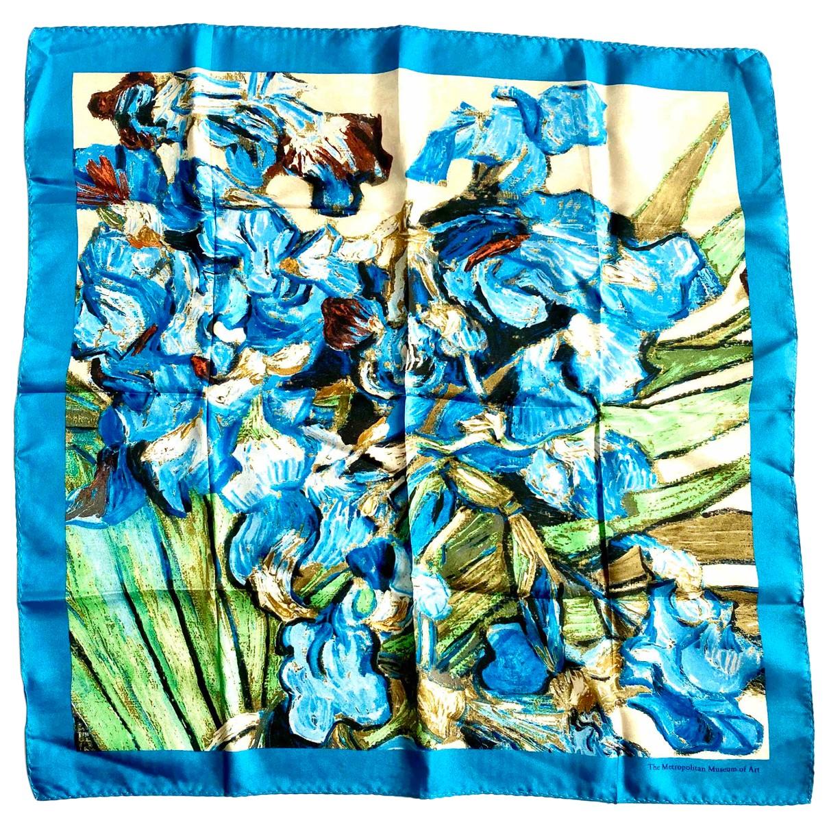 Autre Marque N Blue Silk scarf for Women N