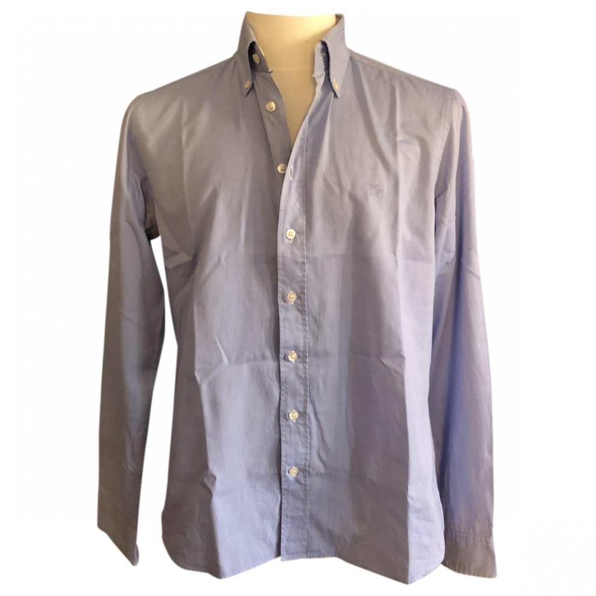Burberry - Chemises   pour homme en coton - turquoise
