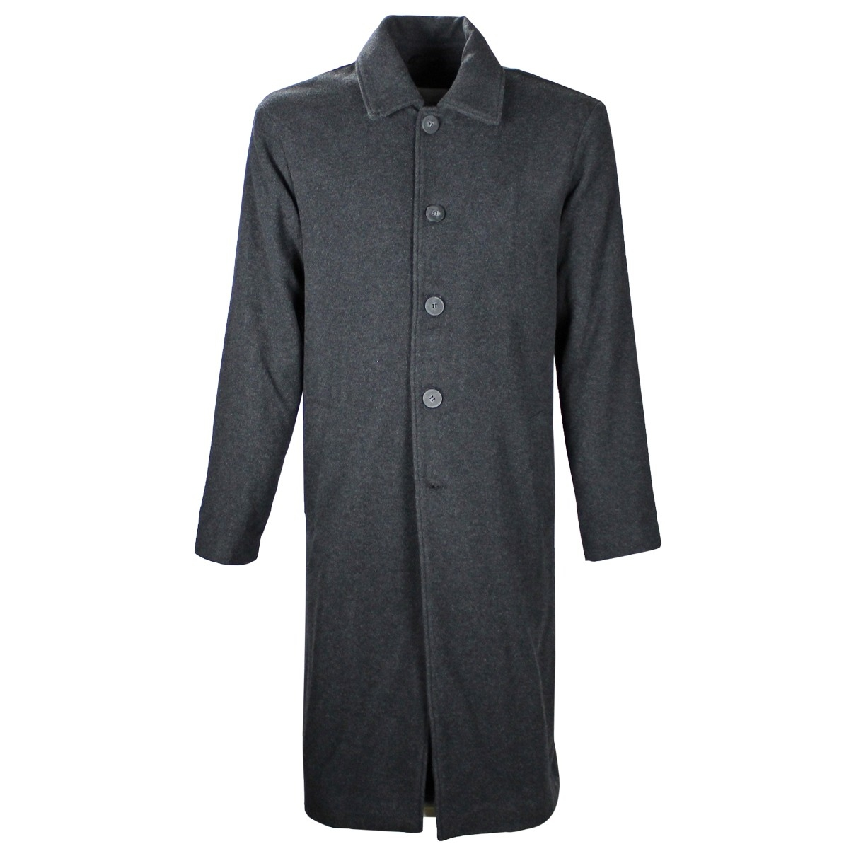 American Vintage \N Anthracite Wool coat  for Men M International