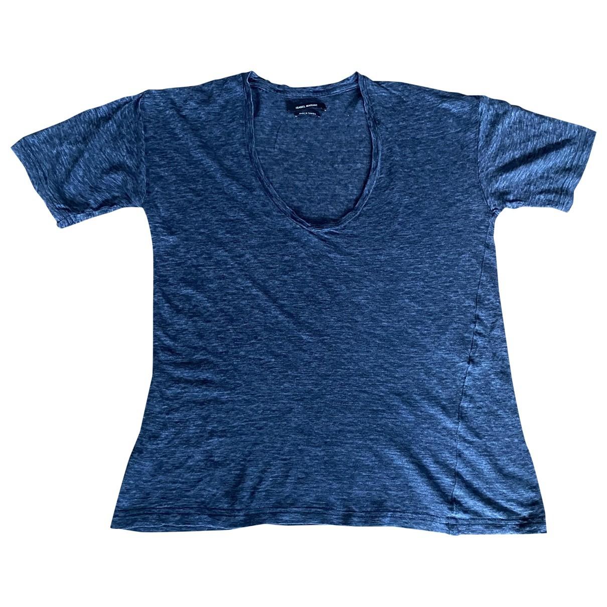 Isabel Marant - Top   pour femme en coton - anthracite