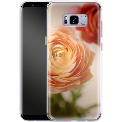 Samsung Galaxy S8 Plus Silikon Handyhuelle - She Loved Flowers von Joy StClaire