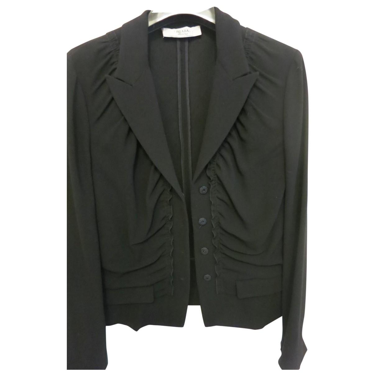 Prada \N Black jacket for Women 44 IT