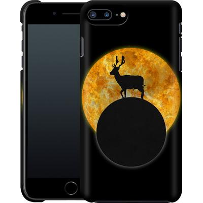 Apple iPhone 8 Plus Smartphone Huelle - Deer on the Moon von Barruf