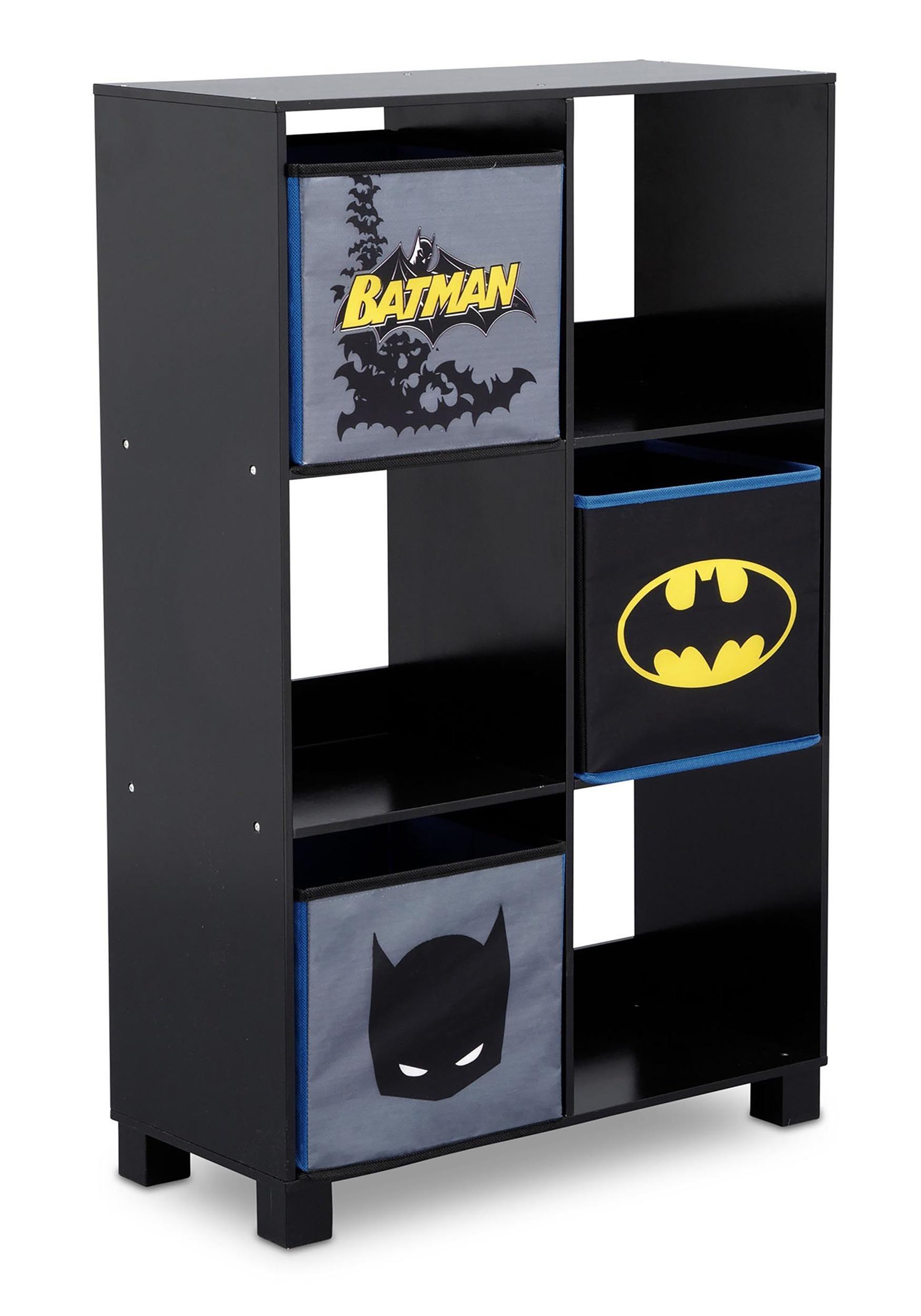 6 Cubby Batman Storage Unit