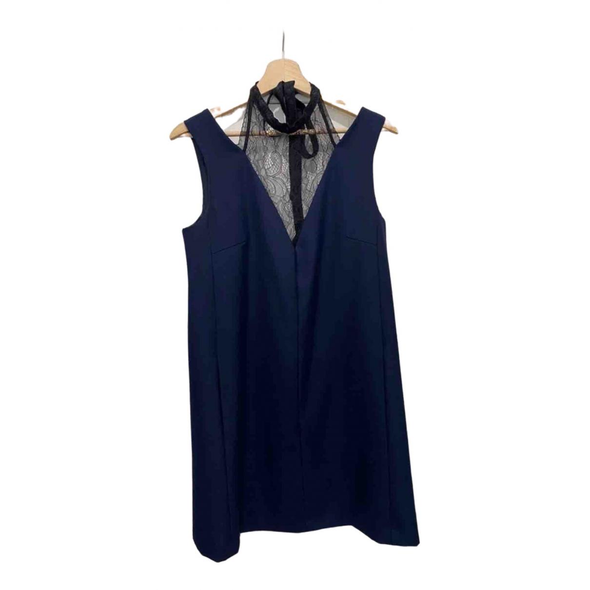 Claudie Pierlot \N Navy Lace dress for Women 40 FR