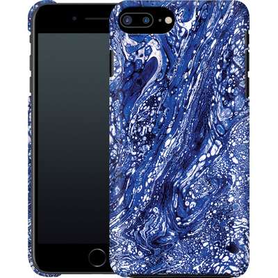 Apple iPhone 8 Plus Smartphone Huelle - Marbled Blue von Amy Sia