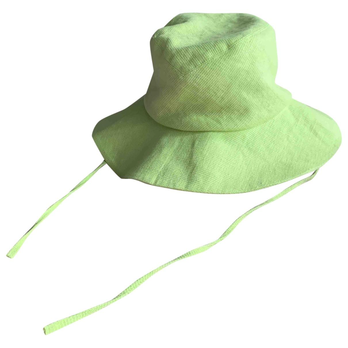 Clyde - Chapeau   pour femme en coton - vert