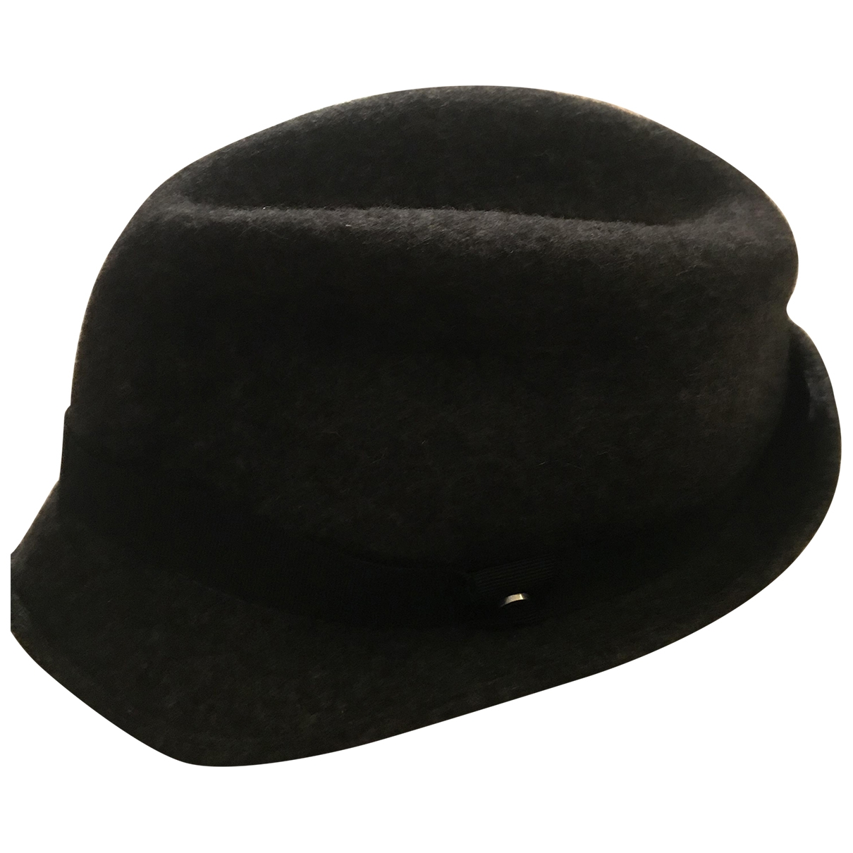 Emporio Armani \N Anthracite Wool hat & pull on hat for Men 59 cm