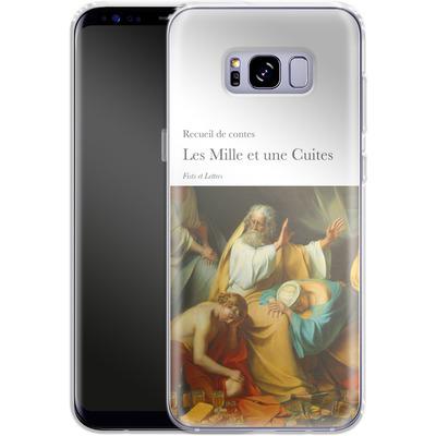 Samsung Galaxy S8 Plus Silikon Handyhuelle - Mille Et Une Cuites von Fists Et Lettres