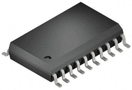 Toshiba 74HC240D, 10, Octal Bus Buffer, 165 ns @ 150 pF 7.8mA, 20-Pin SOIC (2000)