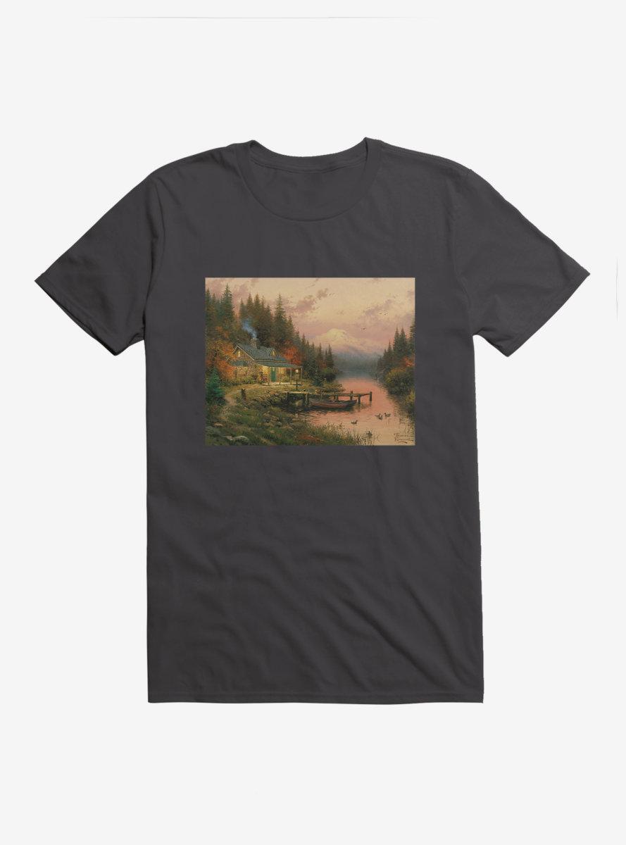 Thomas Kinkade End Of A Perfect Day T-Shirt