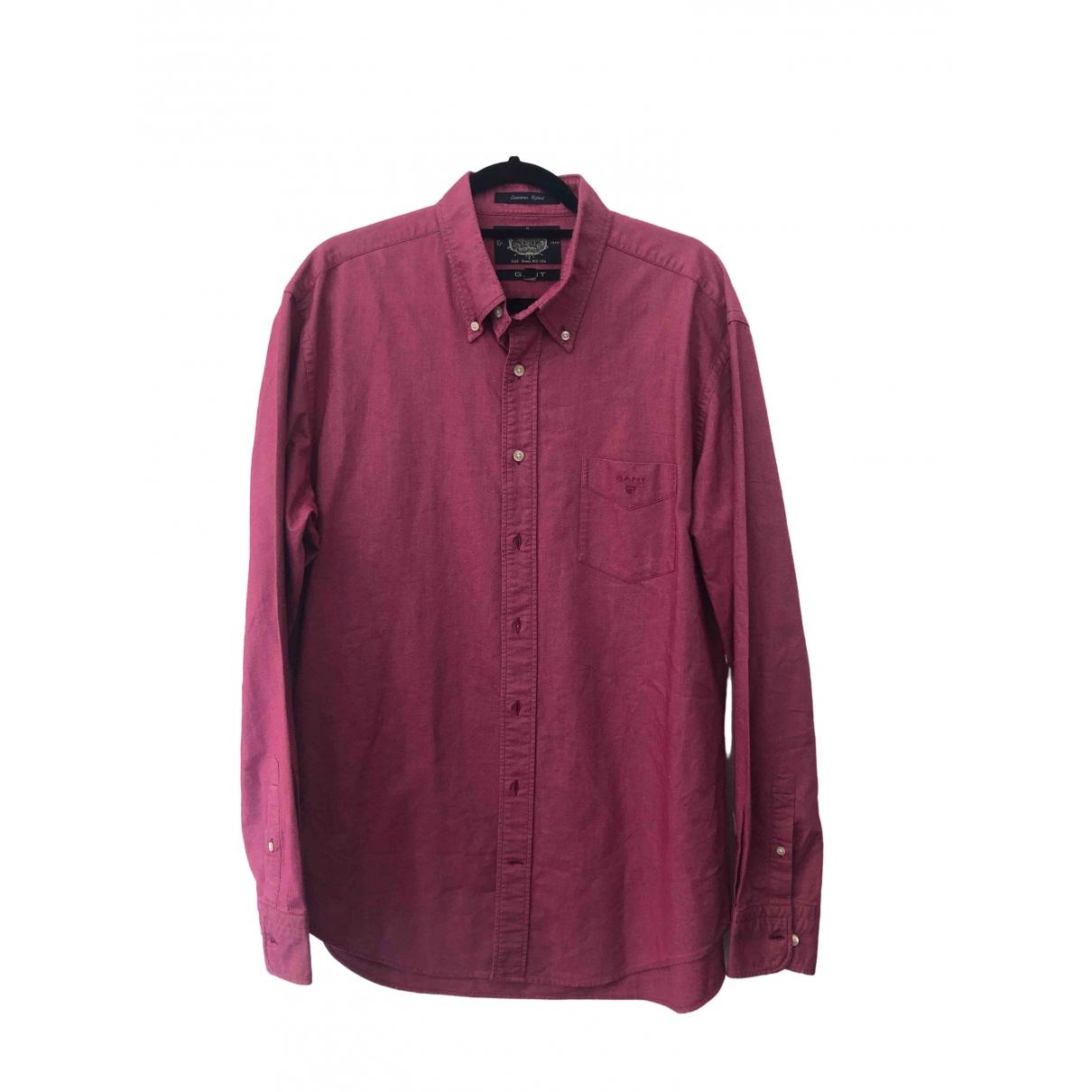 Gant \N Pink Cotton Shirts for Men XL International