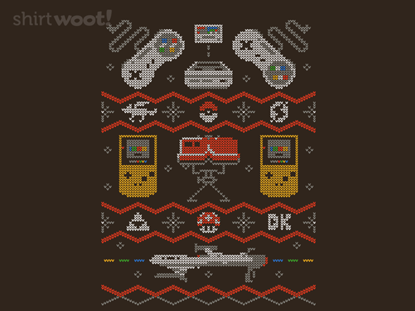 Super Ugly Gaming Sweater T Shirt